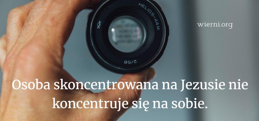 Osoba skoncentrowana na Jezusie